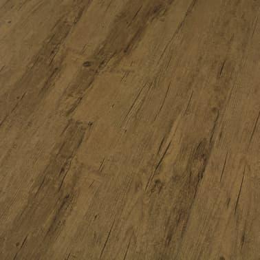 vidaXL Grindų plokštės, 4,46m², PVC, prilipdomos, natūr. rud. sp.[4/5]