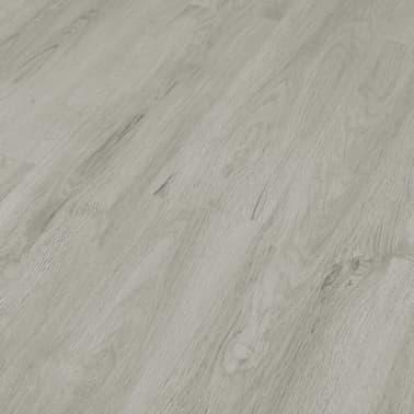 vidaXL Grindų plokštės, 4,46m², PVC, prilipdomos, švies. pilk. sp.[2/5]