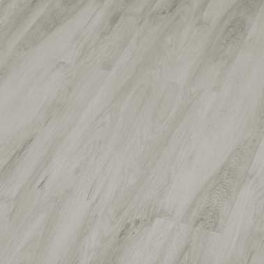 vidaXL Grindų plokštės, 4,46m², PVC, prilipdomos, švies. pilk. sp.[3/5]