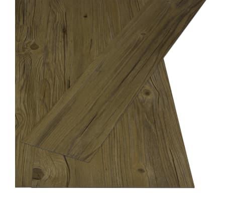 vidaXL Grindų plokštės, 4,46m², PVC, prilipdomos, rudos sp.[2/5]