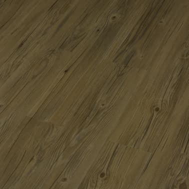 vidaXL Grindų plokštės, 4,46m², PVC, prilipdomos, rudos sp.[3/5]