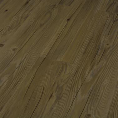 vidaXL Grindų plokštės, 4,46m², PVC, prilipdomos, rudos sp.[4/5]