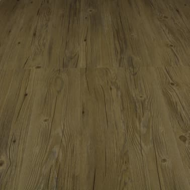vidaXL Grindų plokštės, 4,46m², PVC, prilipdomos, rudos sp.[5/5]