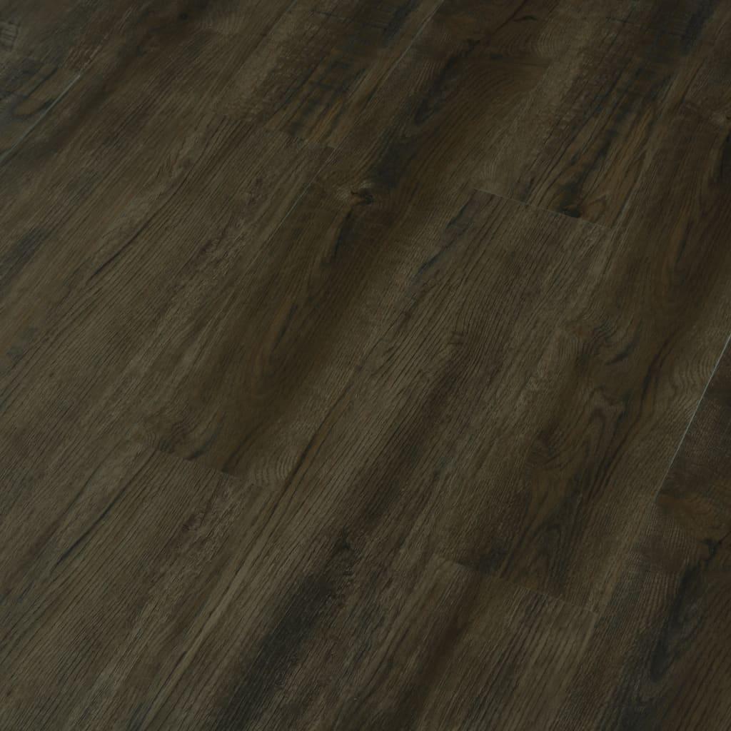 Vloerplanken zelfklevend 4,46 m² 3 mm PVC donkerbruin