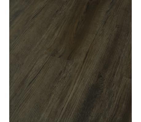 vidaXL Grindų plokštės, 4,46m², PVC, prilipdomos, tams. rudos sp.[4/5]