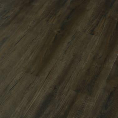 vidaXL Grindų plokštės, 4,46m², PVC, prilipdomos, tams. rudos sp.[3/5]