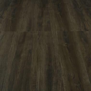 vidaXL Grindų plokštės, 4,46m², PVC, prilipdomos, tams. rudos sp.[5/5]