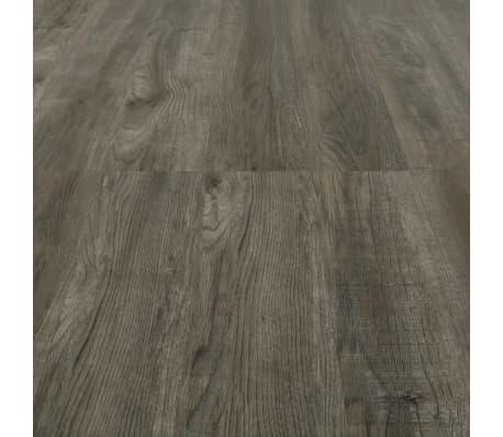 vidaXL Grindų plokštės, 4,46m², PVC, prilipdomos, pilk. ir rud. sp.[5/5]