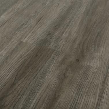 vidaXL Grindų plokštės, 4,46m², PVC, prilipdomos, pilk. ir rud. sp.[3/5]