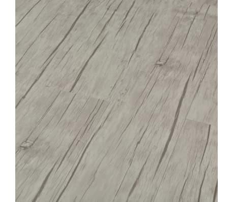 vidaXL fakó tölgyszínű PVC click-rendszerű padlódeszka 4 mm 3,51 m²[3/6]