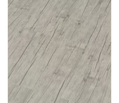 vidaXL fakó tölgyszínű PVC click-rendszerű padlódeszka 4 mm 3,51 m²[4/6]