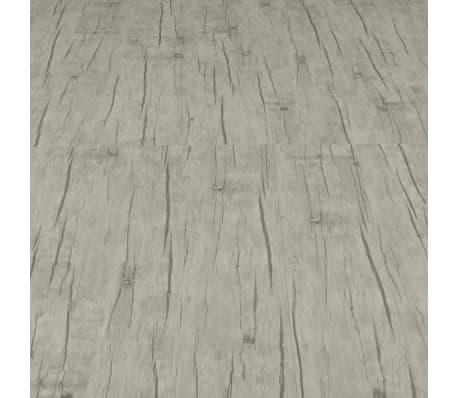 vidaXL fakó tölgyszínű PVC click-rendszerű padlódeszka 4 mm 3,51 m²[5/6]