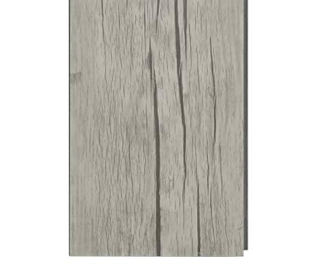 vidaXL fakó tölgyszínű PVC click-rendszerű padlódeszka 4 mm 3,51 m²[6/6]
