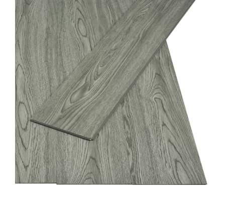 vidaXL Plăci podea cu îmbinare clic, gri 3,51 m² 4 mm, PVC[2/6]