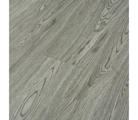 vidaXL Klickboden 3,51 m² 4 mm PVC Grau[3/6]