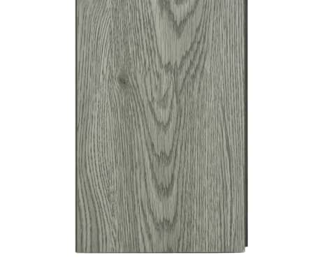vidaXL Plăci podea cu îmbinare clic, gri 3,51 m² 4 mm, PVC[6/6]