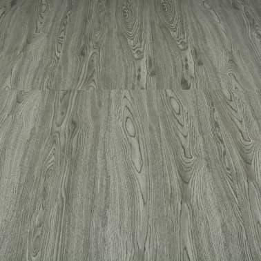 vidaXL Klickboden 3,51 m² 4 mm PVC Grau[5/6]