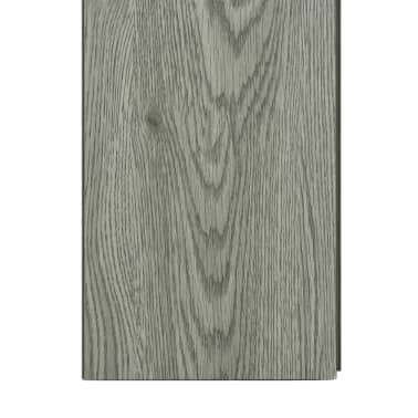 vidaXL Klickboden 3,51 m² 4 mm PVC Grau[6/6]