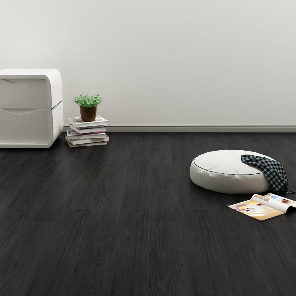 vidaXL Plovoucí vinylová podlaha 3,51 m² 4 mm dub antracitová