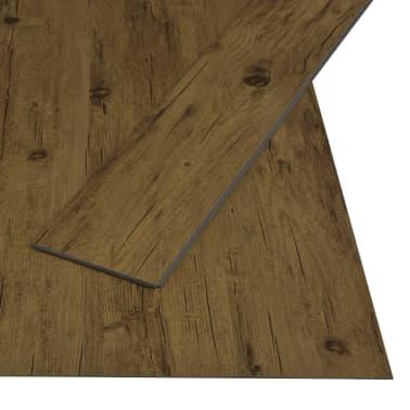 vidaXL Įspaudž. grindų plokštė, nat. rudos sp., 3,51 m², 4 mm, PVC[2/6]