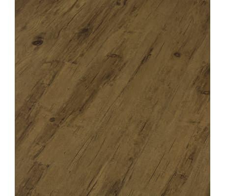 vidaXL Įspaudž. grindų plokštė, nat. rudos sp., 3,51 m², 4 mm, PVC[4/6]