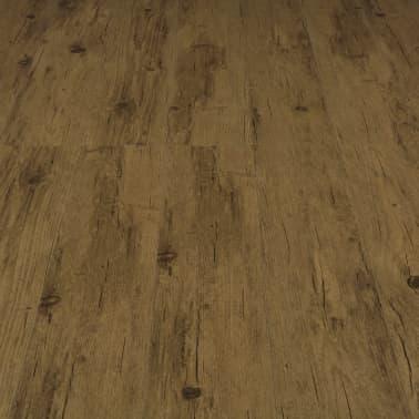 vidaXL Įspaudž. grindų plokštė, nat. rudos sp., 3,51 m², 4 mm, PVC[5/6]