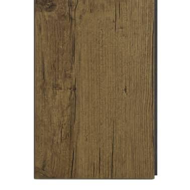 vidaXL Įspaudž. grindų plokštė, nat. rudos sp., 3,51 m², 4 mm, PVC[6/6]