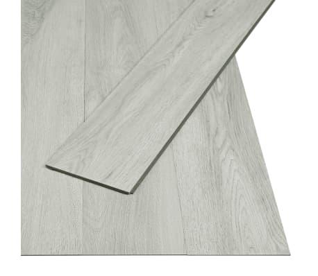 vidaXL Plăci podea cu îmbinare clic, gri deschis 3,51 m² 4 mm, PVC
