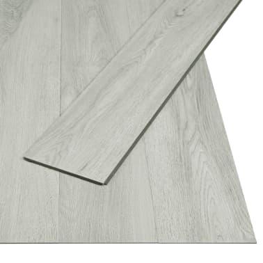 vidaXL Plăci podea cu îmbinare clic, gri deschis 3,51 m² 4 mm, PVC[2/6]