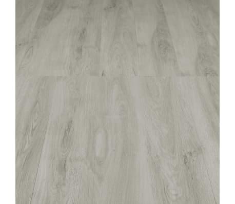 vidaXL Plăci podea cu îmbinare clic, gri deschis 3,51 m² 4 mm, PVC[5/6]