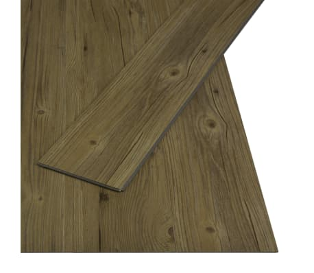 vidaXL Įspaudž. grindų plokštė, rudos sp., 3,51 m², 4 mm, PVC[2/6]