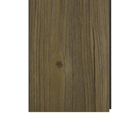 vidaXL Įspaudž. grindų plokštė, rudos sp., 3,51 m², 4 mm, PVC[6/6]