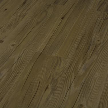 vidaXL Įspaudž. grindų plokštė, rudos sp., 3,51 m², 4 mm, PVC[4/6]
