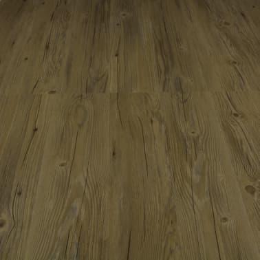 vidaXL Įspaudž. grindų plokštė, rudos sp., 3,51 m², 4 mm, PVC[5/6]