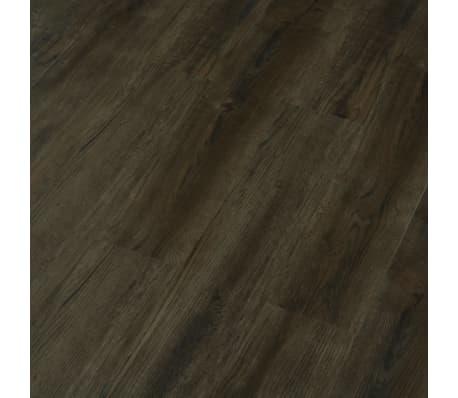 vidaXL Planches de plancher autoadhésives 3,51 m² PVC Marron foncé[4/6]