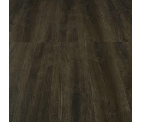 vidaXL Planches de plancher autoadhésives 3,51 m² PVC Marron foncé[5/6]