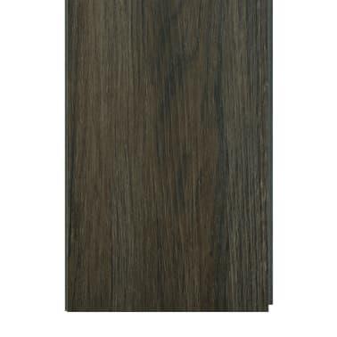 vidaXL Planches de plancher autoadhésives 3,51 m² PVC Marron foncé[6/6]