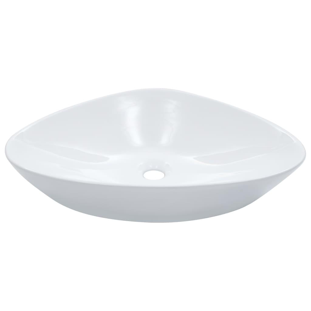 vidaXL Umyvadlo 58,5 x 39 x 14 cm keramické bílé