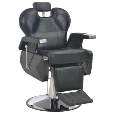 vidaXL Scaun frizer, negru, 72 x 68 x 98 cm, piele ecologică[1/11]