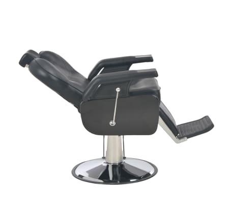 vidaXL Scaun frizer, negru, 72 x 68 x 98 cm, piele ecologică[7/11]