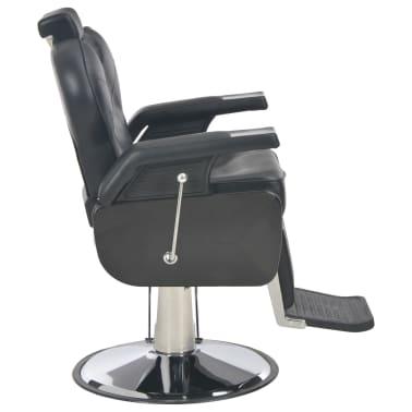 vidaXL Scaun frizer, negru, 72 x 68 x 98 cm, piele ecologică[3/11]