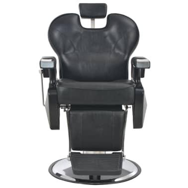 vidaXL Scaun frizer, negru, 72 x 68 x 98 cm, piele ecologică[4/11]