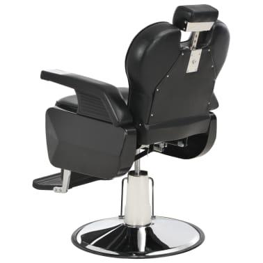 vidaXL Scaun frizer, negru, 72 x 68 x 98 cm, piele ecologică[5/11]