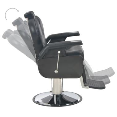 vidaXL Scaun frizer, negru, 72 x 68 x 98 cm, piele ecologică[6/11]