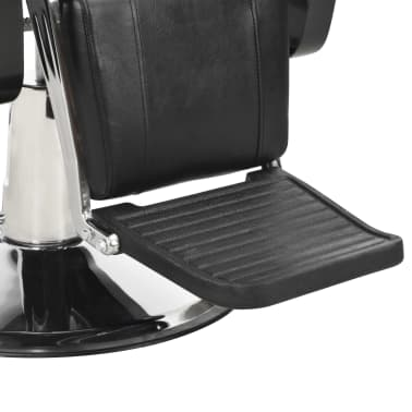 vidaXL Scaun frizer, negru, 72 x 68 x 98 cm, piele ecologică[9/11]