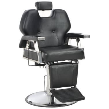 vidaXL Kirpėjo kėdė, juoda, 72x68x98 cm, dirbtinė oda[1/11]