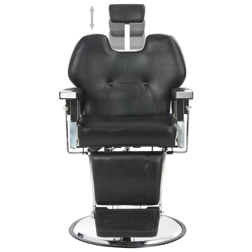 vidaXl Kadeřnické křeslo černé 72 x 68 x 98 cm umělá kůže