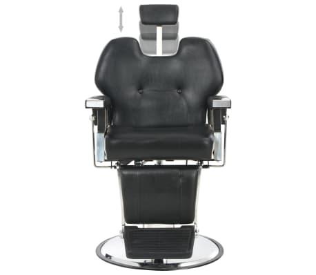 vidaXL Kirpėjo kėdė, juoda, 72x68x98 cm, dirbtinė oda[5/11]