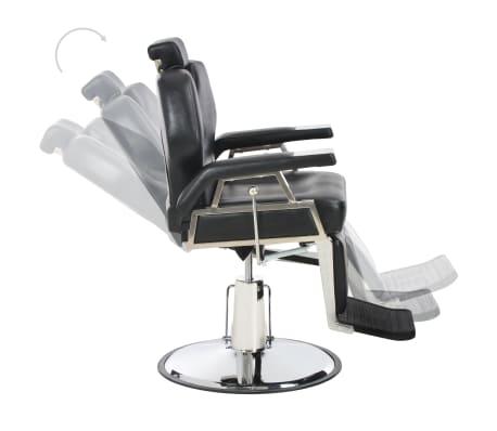 vidaXL Kirpėjo kėdė, juoda, 72x68x98 cm, dirbtinė oda[6/11]