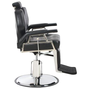vidaXL Kirpėjo kėdė, juoda, 72x68x98 cm, dirbtinė oda[3/11]